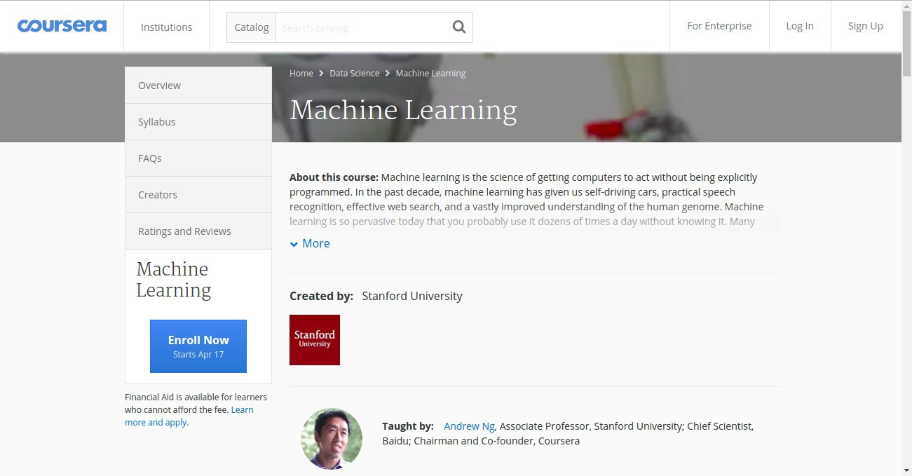Waltzing Through Andrew Ng's Machine Learning Course