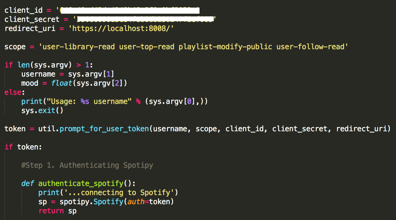 Moodtape: Web Application Using Spotify API to Create Mood