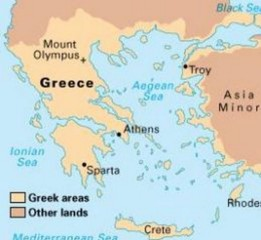 sparta location on world map Who Had A Better Life Women In Sparta Or Athens By Kevin