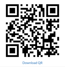 How to generate and download a QR code image in react?