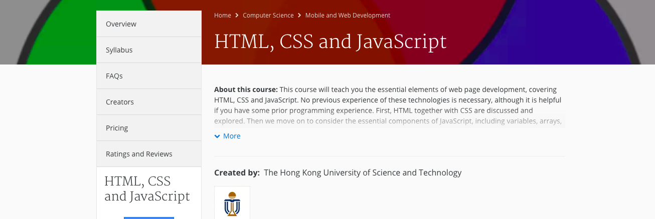 6 best online courses to learn CSS and Javascript - Billeasy