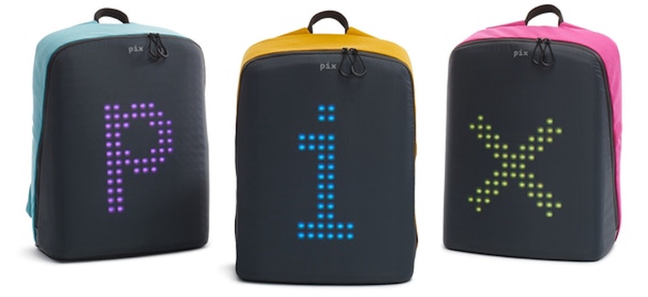 PIX: Interactive Animated LED Backpack - Hackster Blog