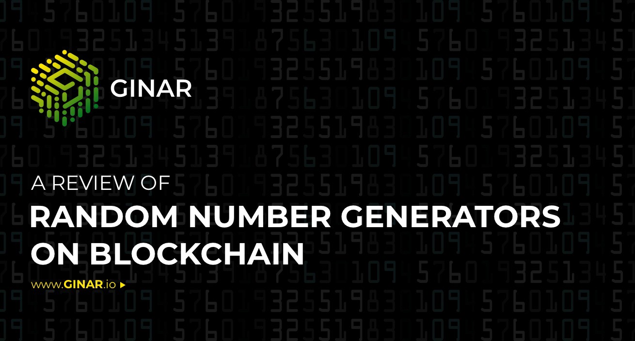 A Review Of Random Number Generator (RNG) On Blockchain