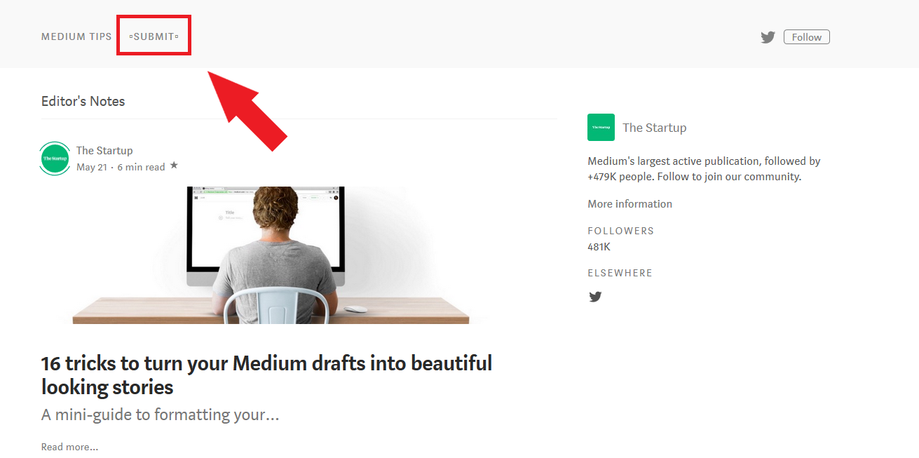 Applying to Medium publications directly