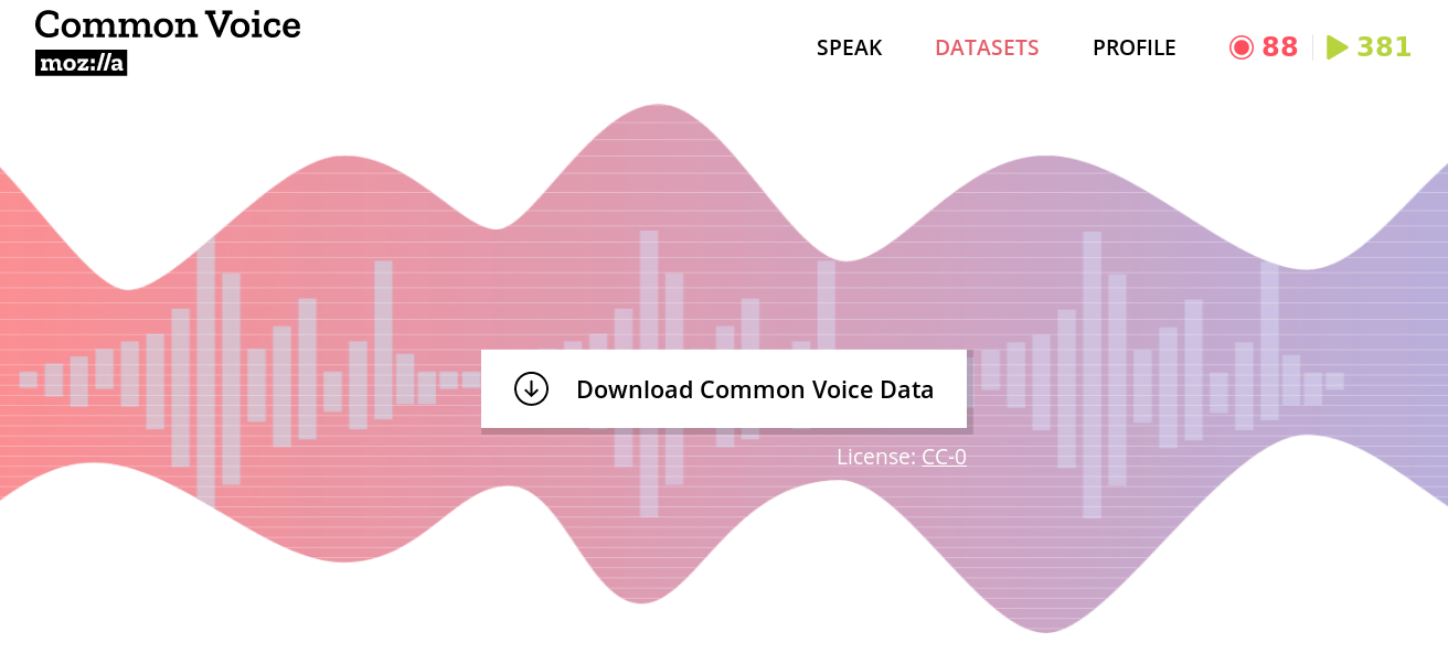 Sharing Our Common Voice — Mozilla Releases Second Largest