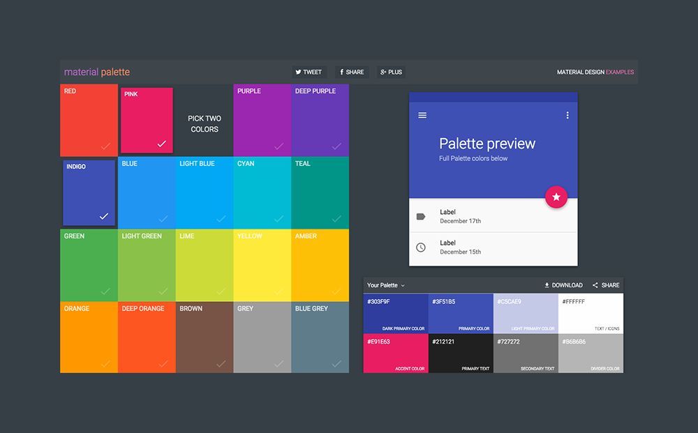 Announcing Material Palette Up Blog