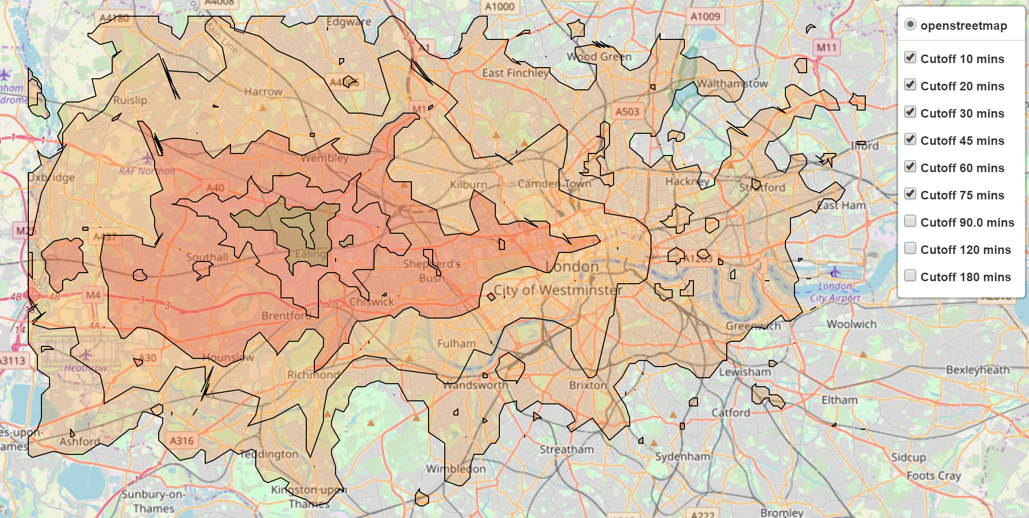 Creating a Modern Day Travel Map of London - Towards Data Science