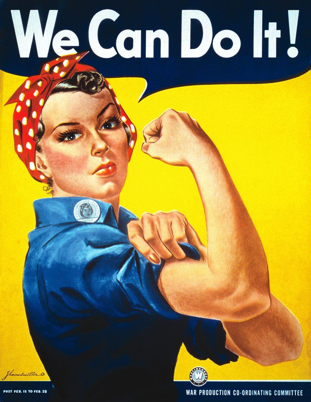 Rosie the Riveter's Journey from Propaganda to Feminist Icon