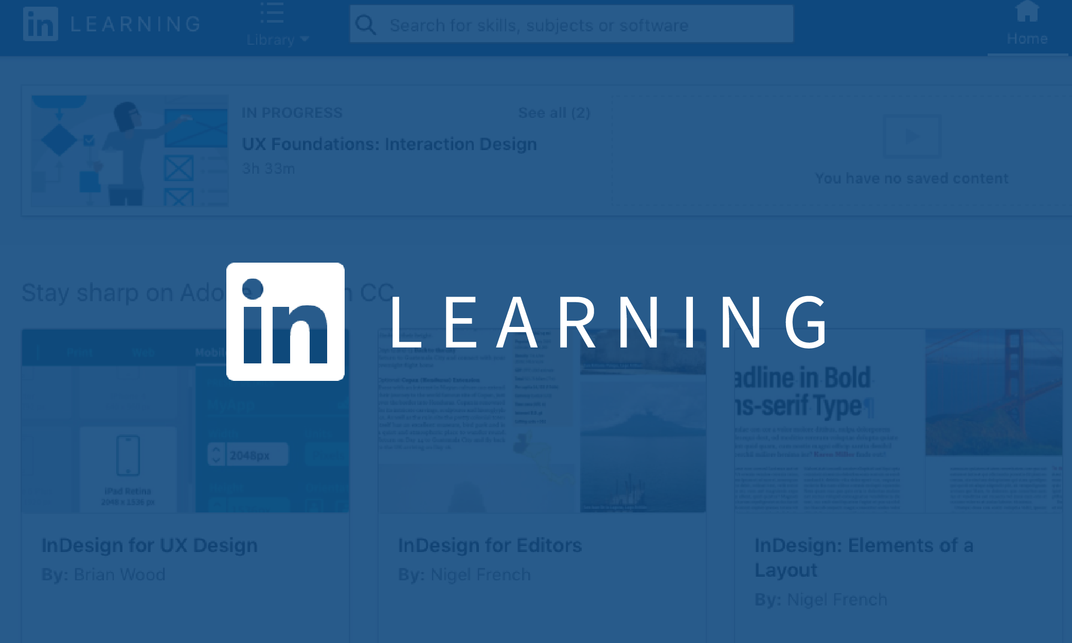 LinkedIn Learning — Usability and Accessibility   by Jennifer ...