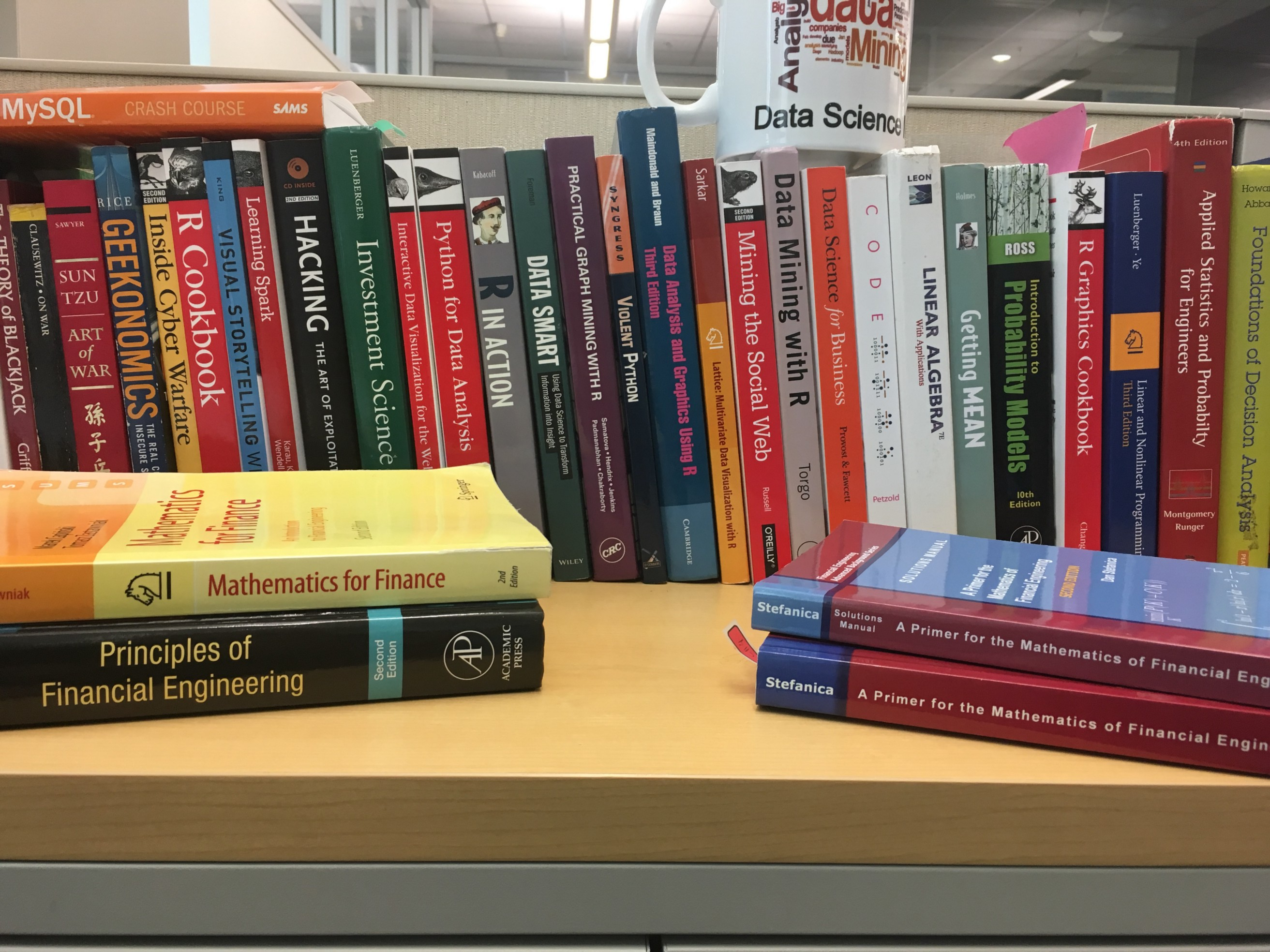 Five books every data scientist should read that are not about data