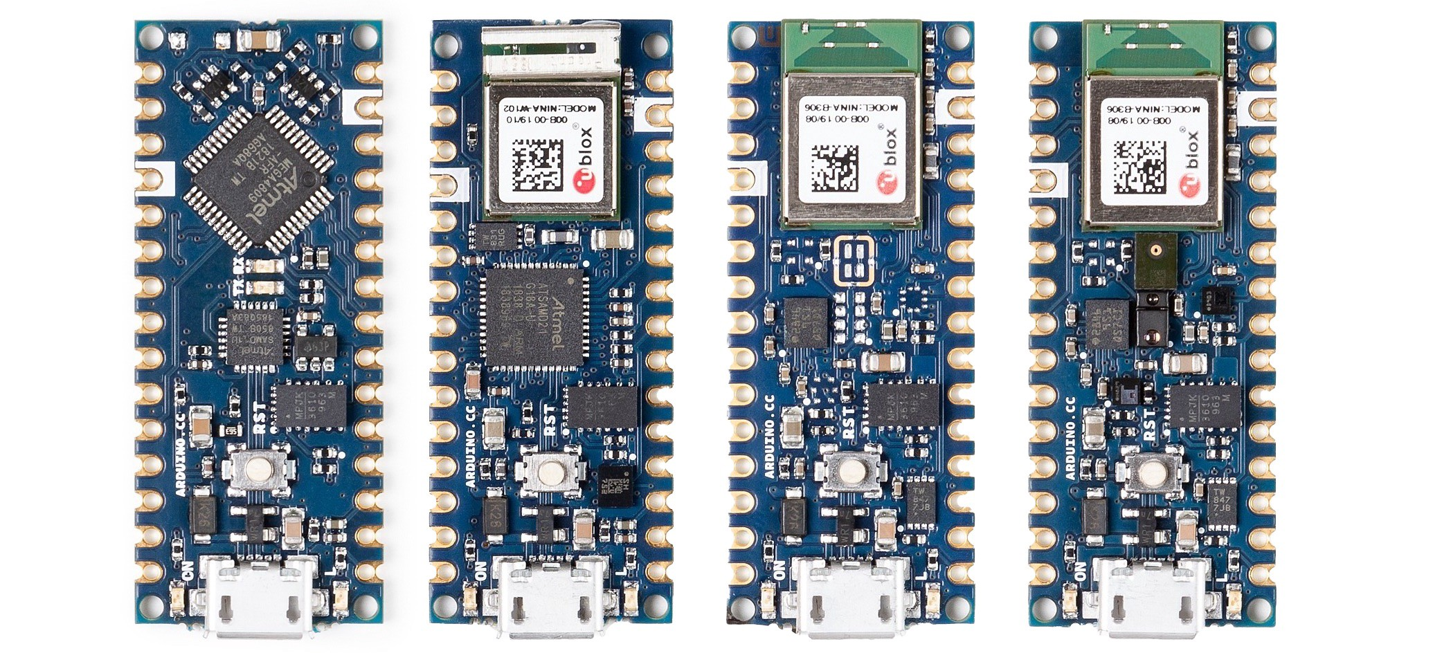 Introducing Four New Arduino Nanos - Hackster Blog