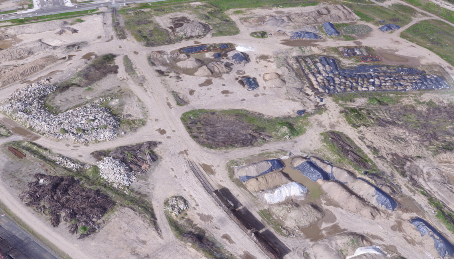 Drone Delivers Quick Results for Large Construction Bid