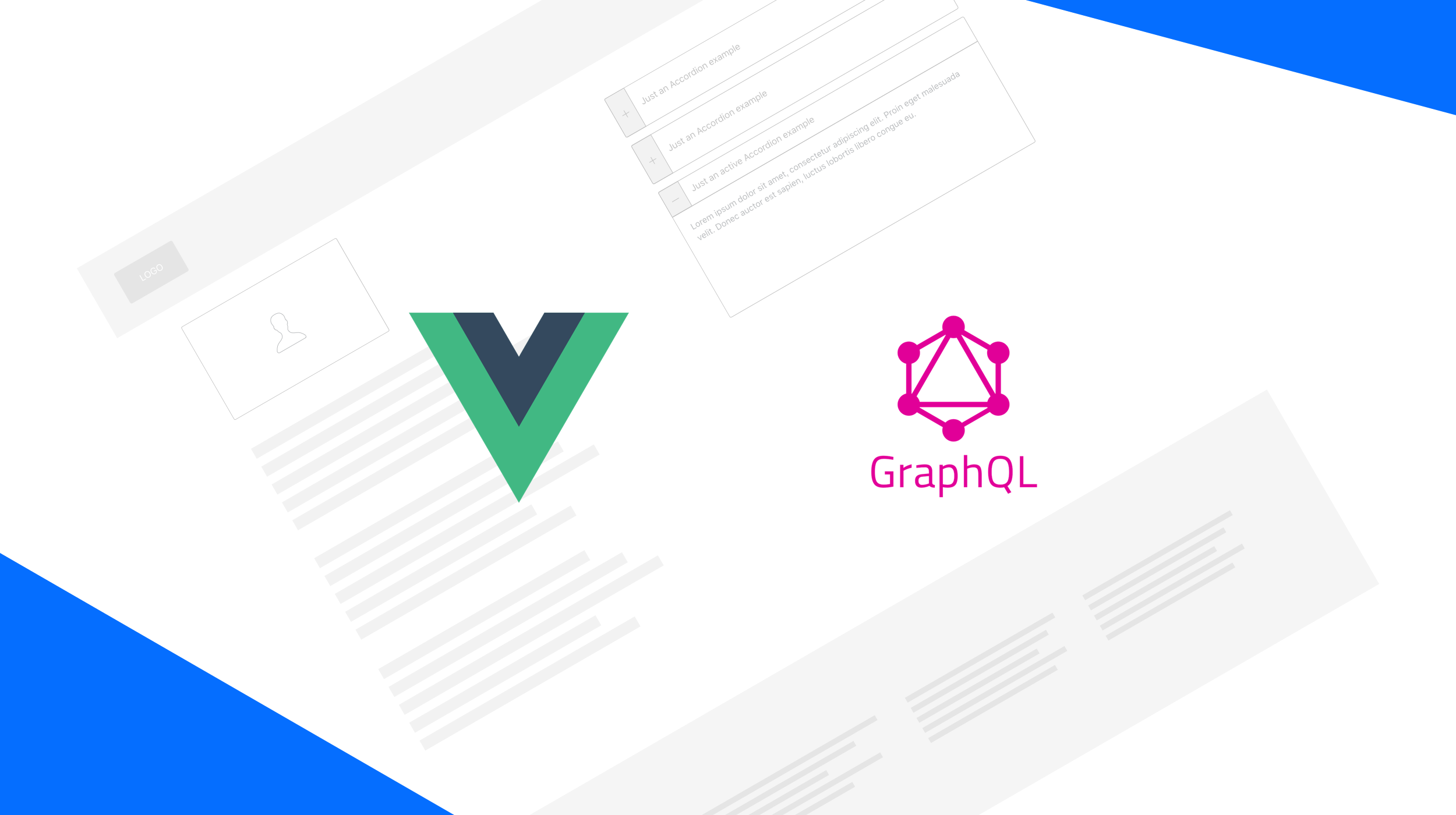 Quickly develop static websites with VueJS, a headless CMS and GraphQL