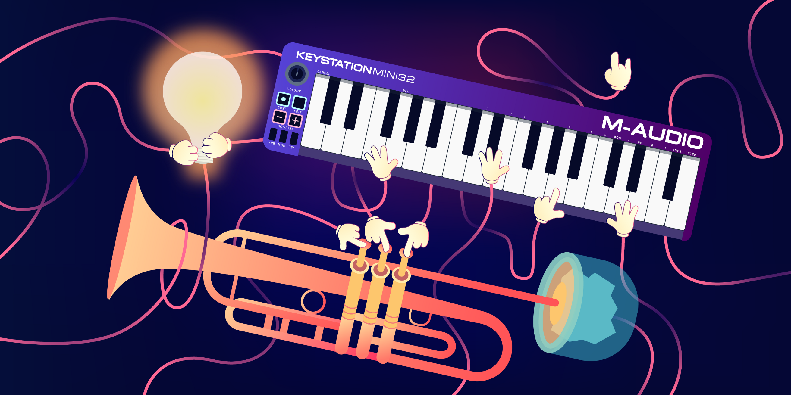 Give Web Developers a Code Editor and a Trumpet, What Happens?