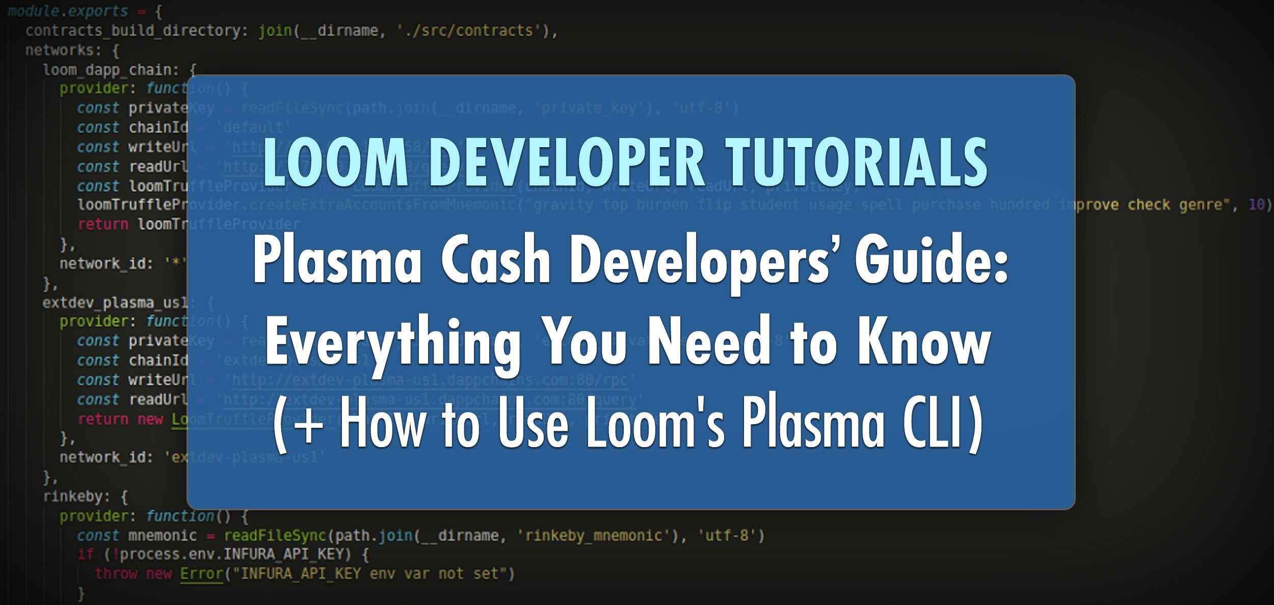 Plasma Cash Developers' Guide: Everything You Need to Know (+ How to