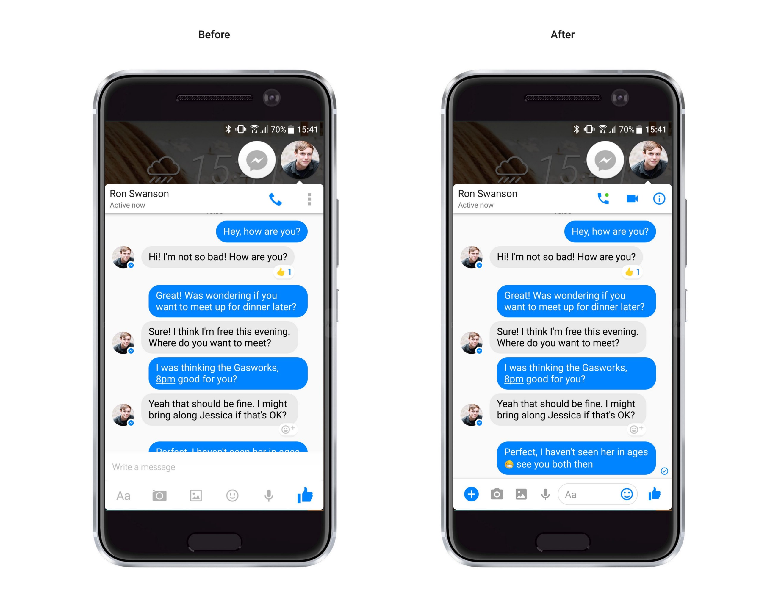 Chatting about UX failures — Facebook Messenger - Prototypr