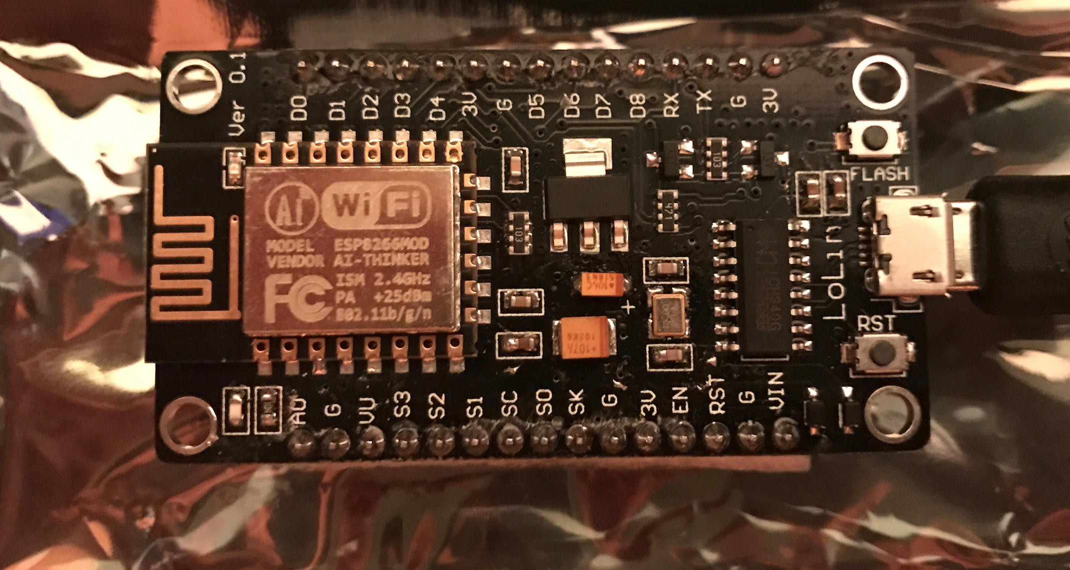 ESP8266 first project: home automation with relays, switches, PWM