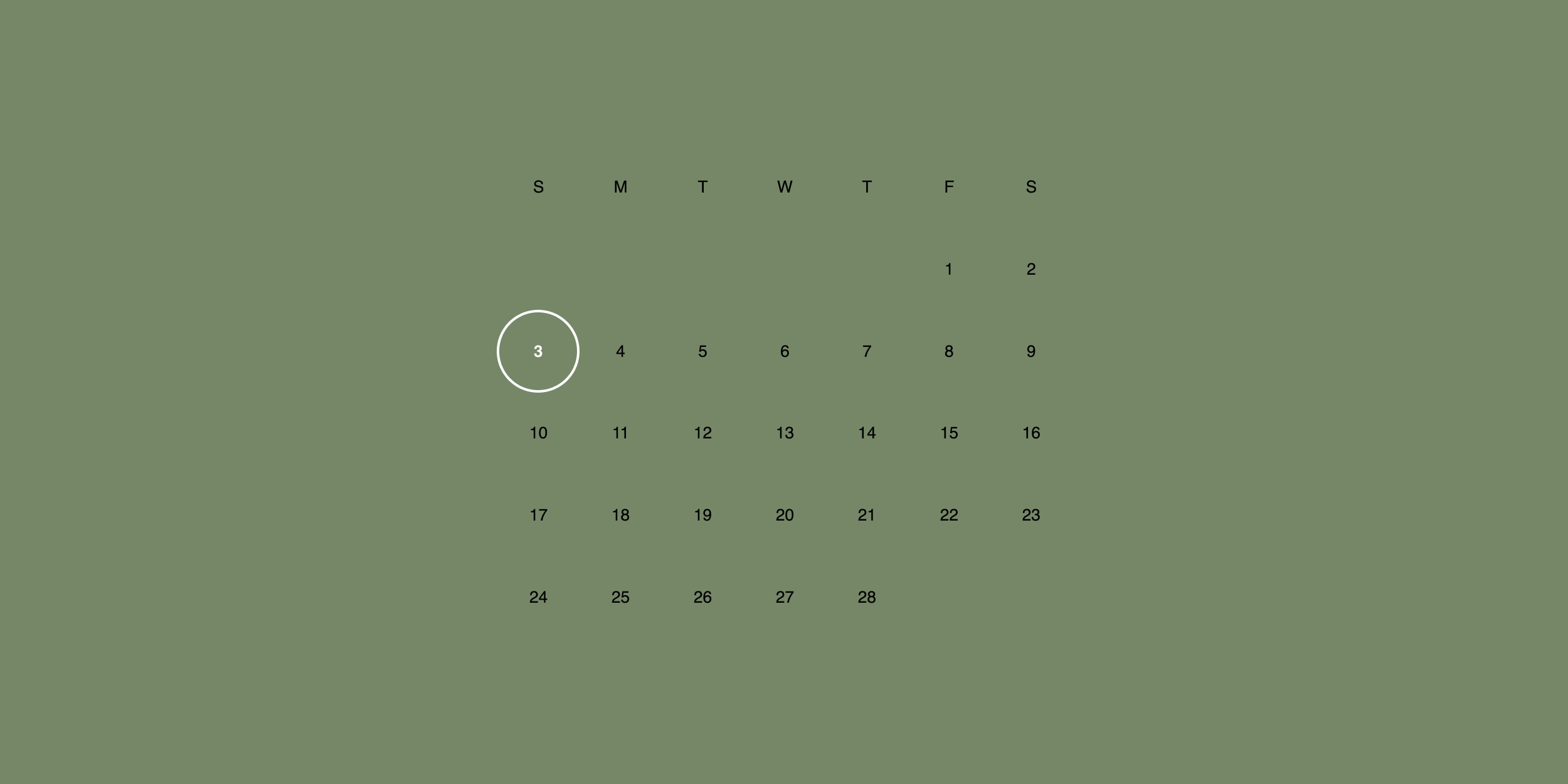Building a Damn Simple Calendar Layout with CSS Grid, Moment, and Vue
