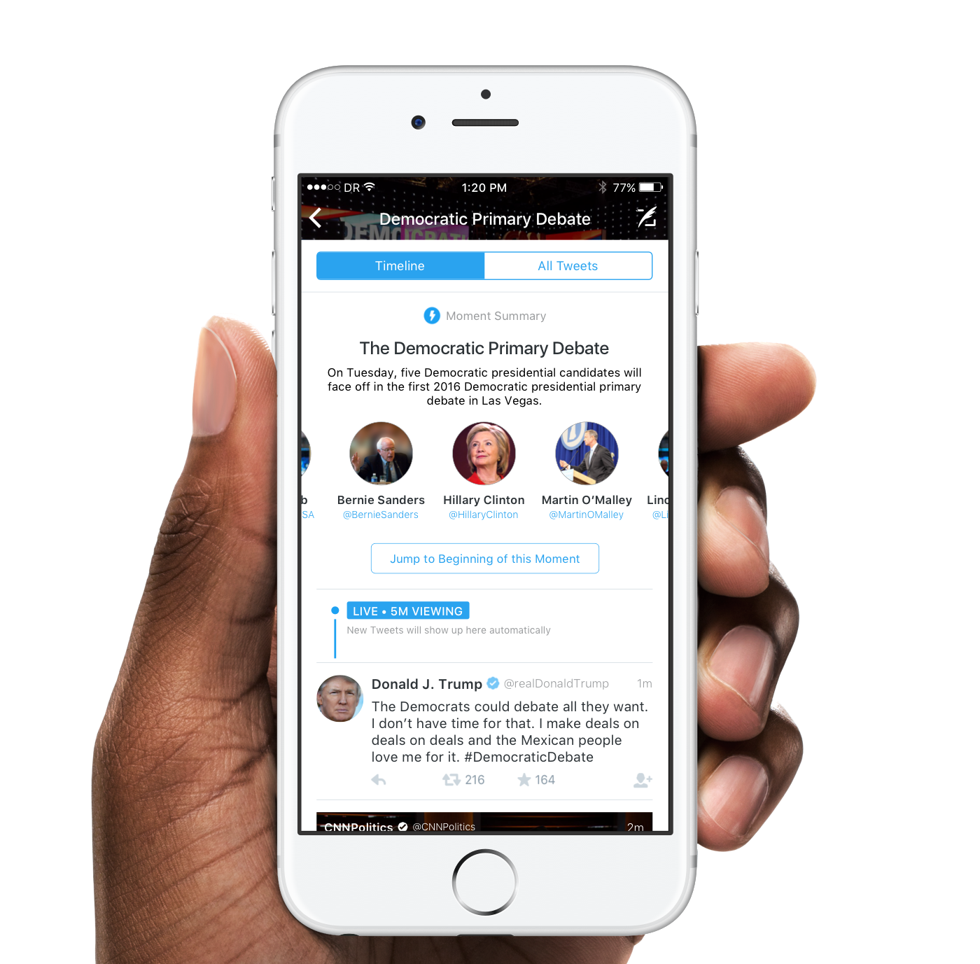 55ad81d5 Redesigning Twitter Moments - The Startup - Medium