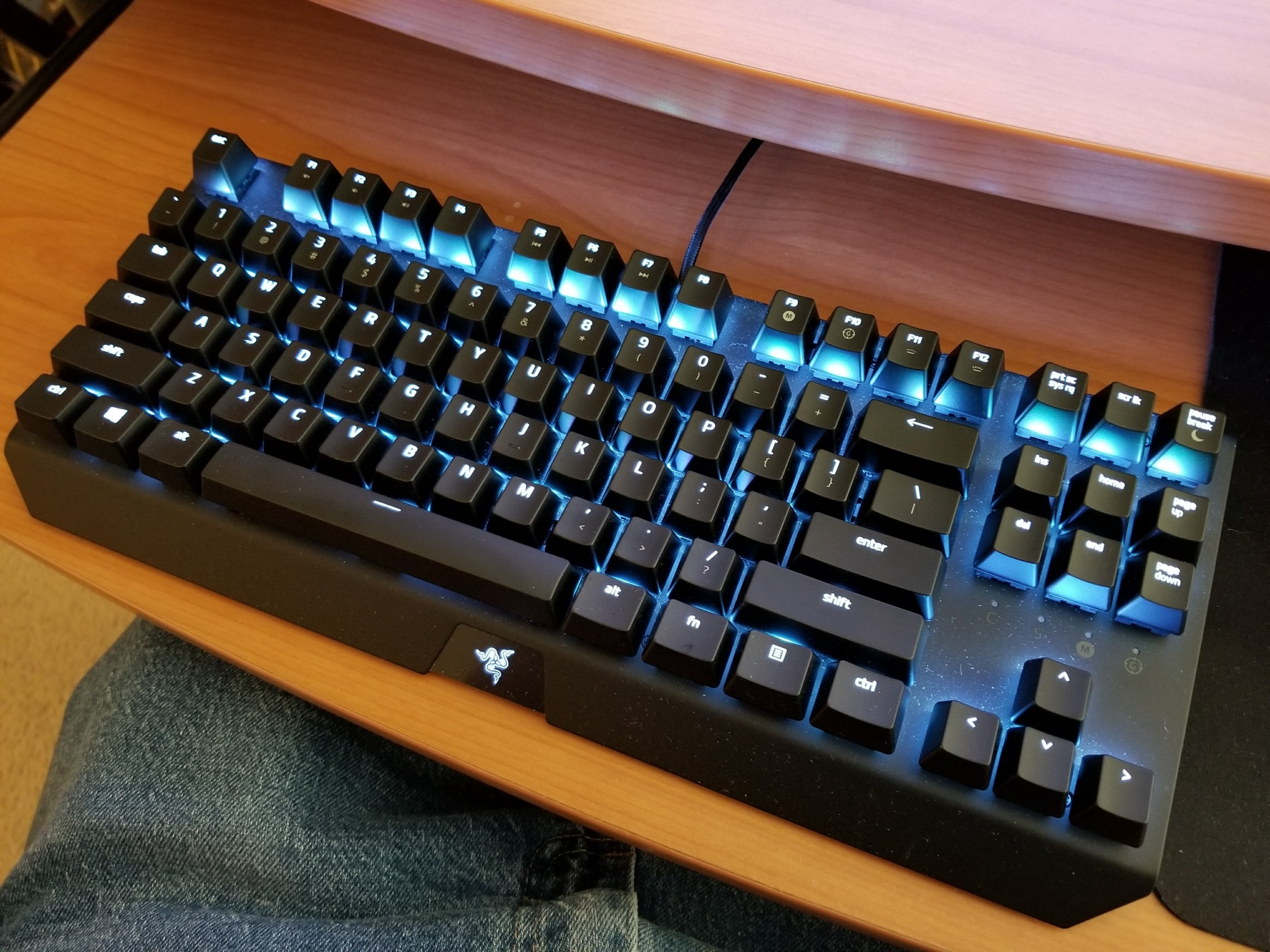 6439395747e The Blackwidow X Chroma TE is great for gaming…and for typing I can't  really decide if I love it or if I hate it.