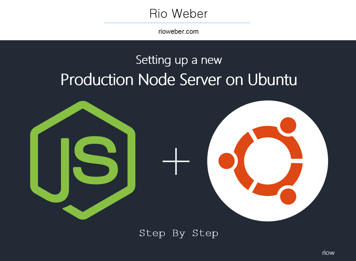 Set up a new Node js Production Server on Ubuntu - riow - Medium