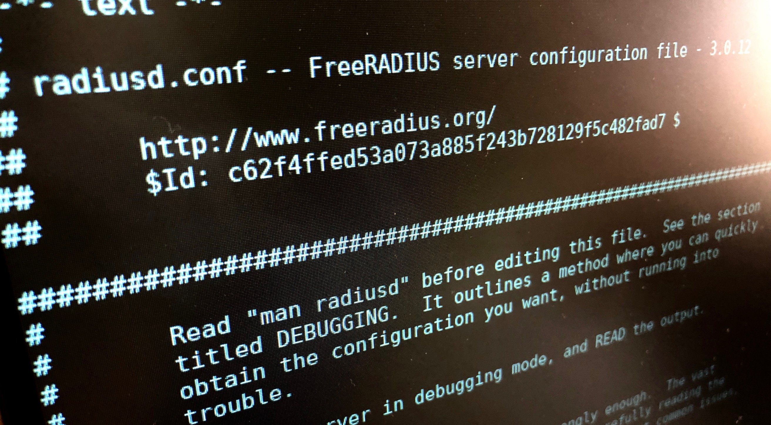UniFi with Freeradius — Part 1: Setup Radius with MariaDB/MySQL