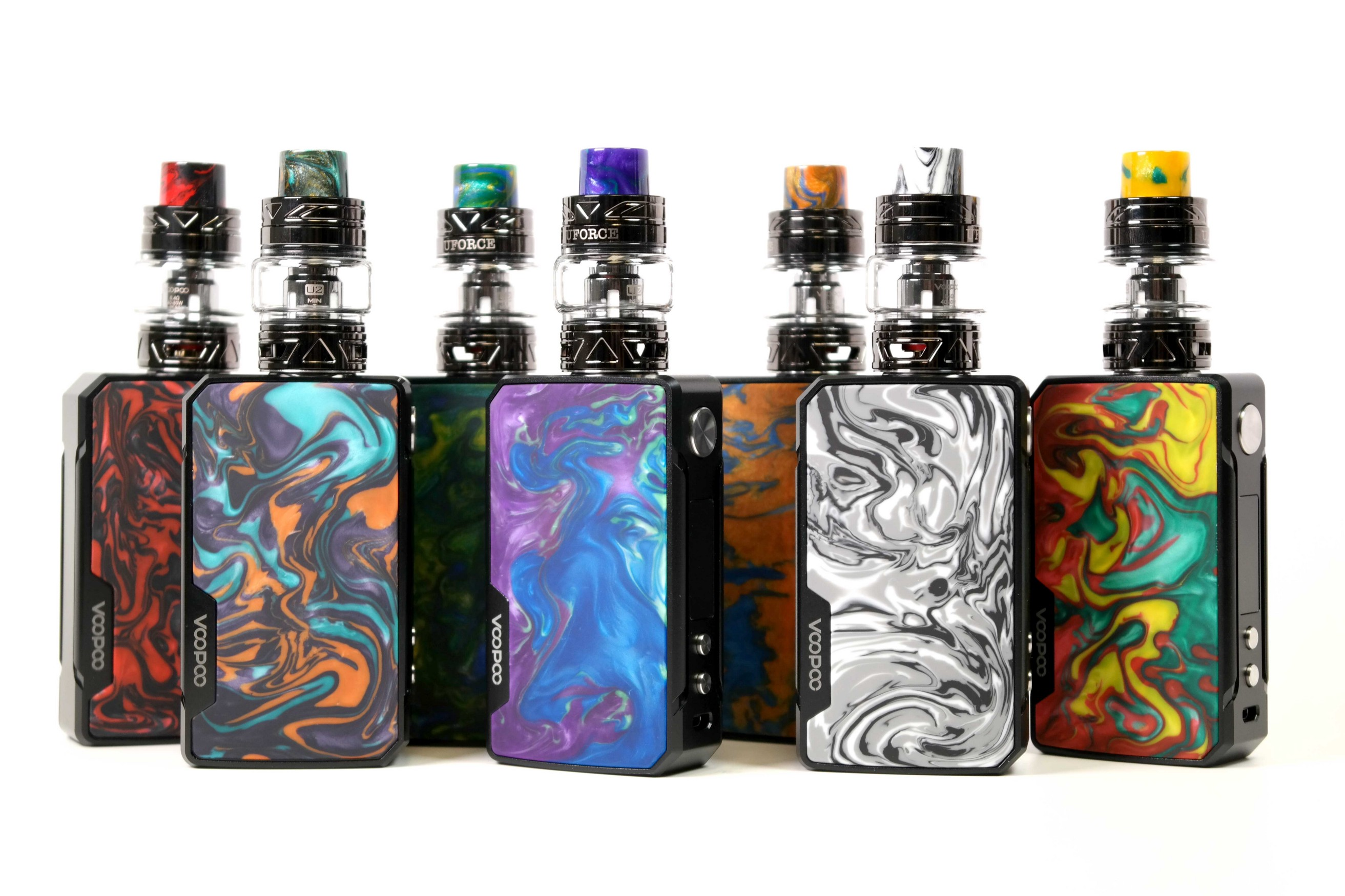 Voopoo Drag 2 Kit with Uforce T2 Review - Vapor Leaf (Vaporleaf