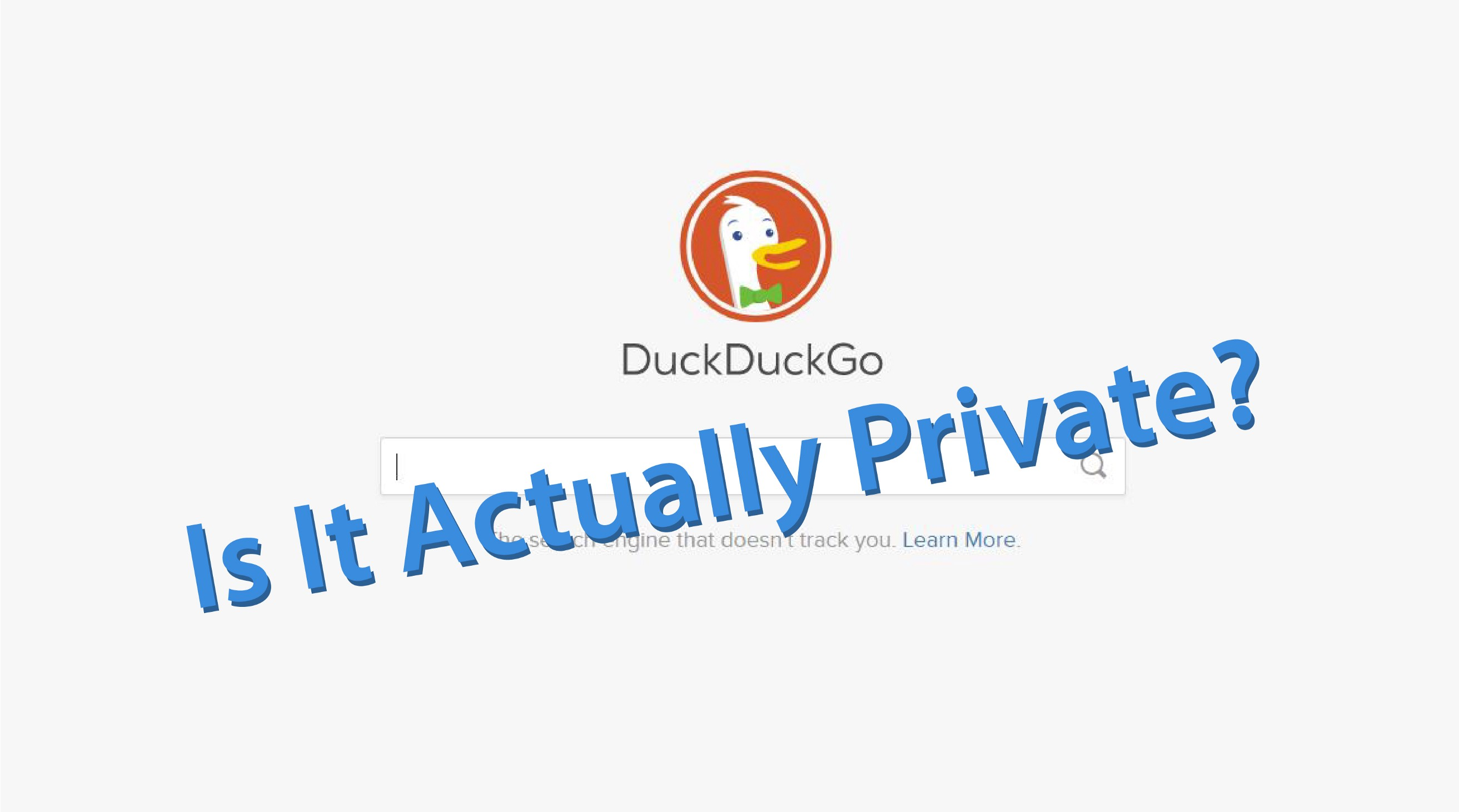 I Found This Flaw in DuckDuckGo - Search Encrypt - Medium