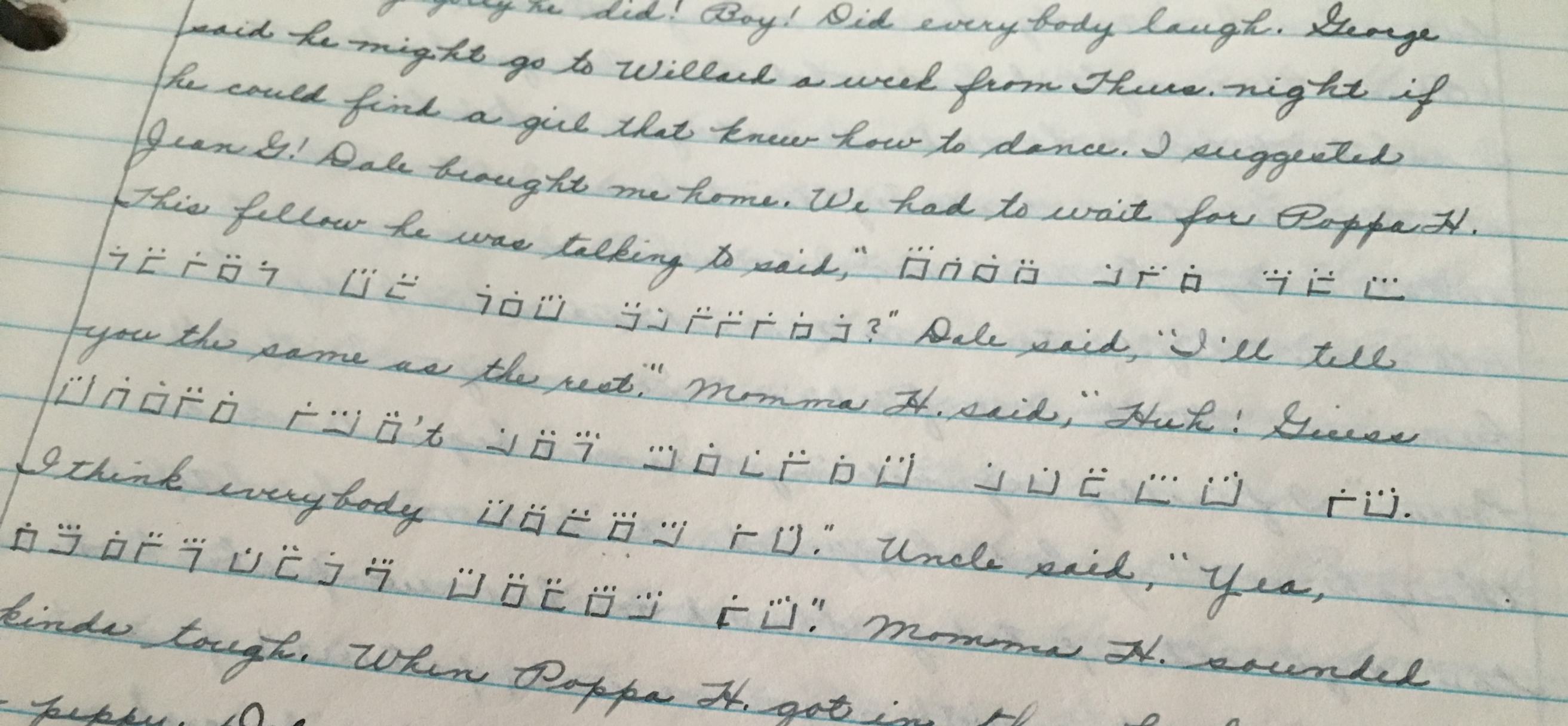 Secret Codes in Grandma's Diaries - The Coffeelicious - Medium