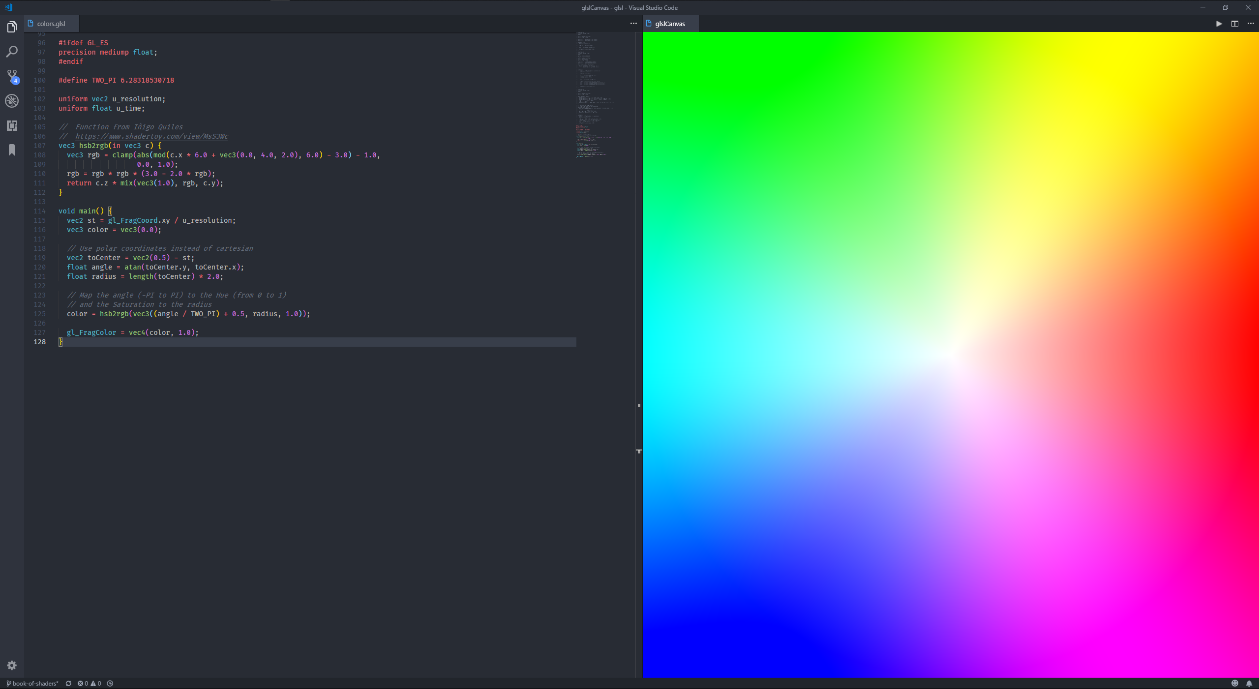Writing Shaders in VS Code: GLSL Setup - Berrak Nil - Medium
