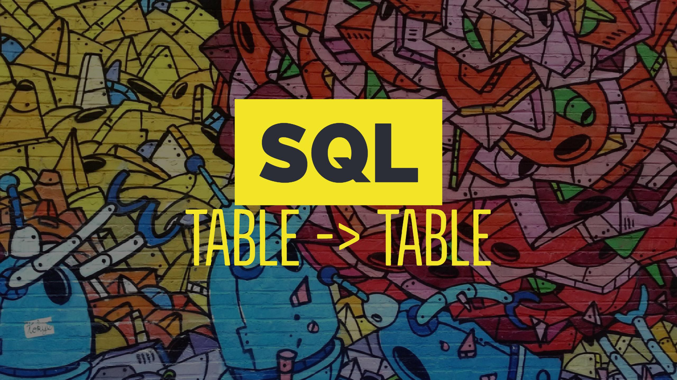 Update from Another Table in SQL - Travis Horn