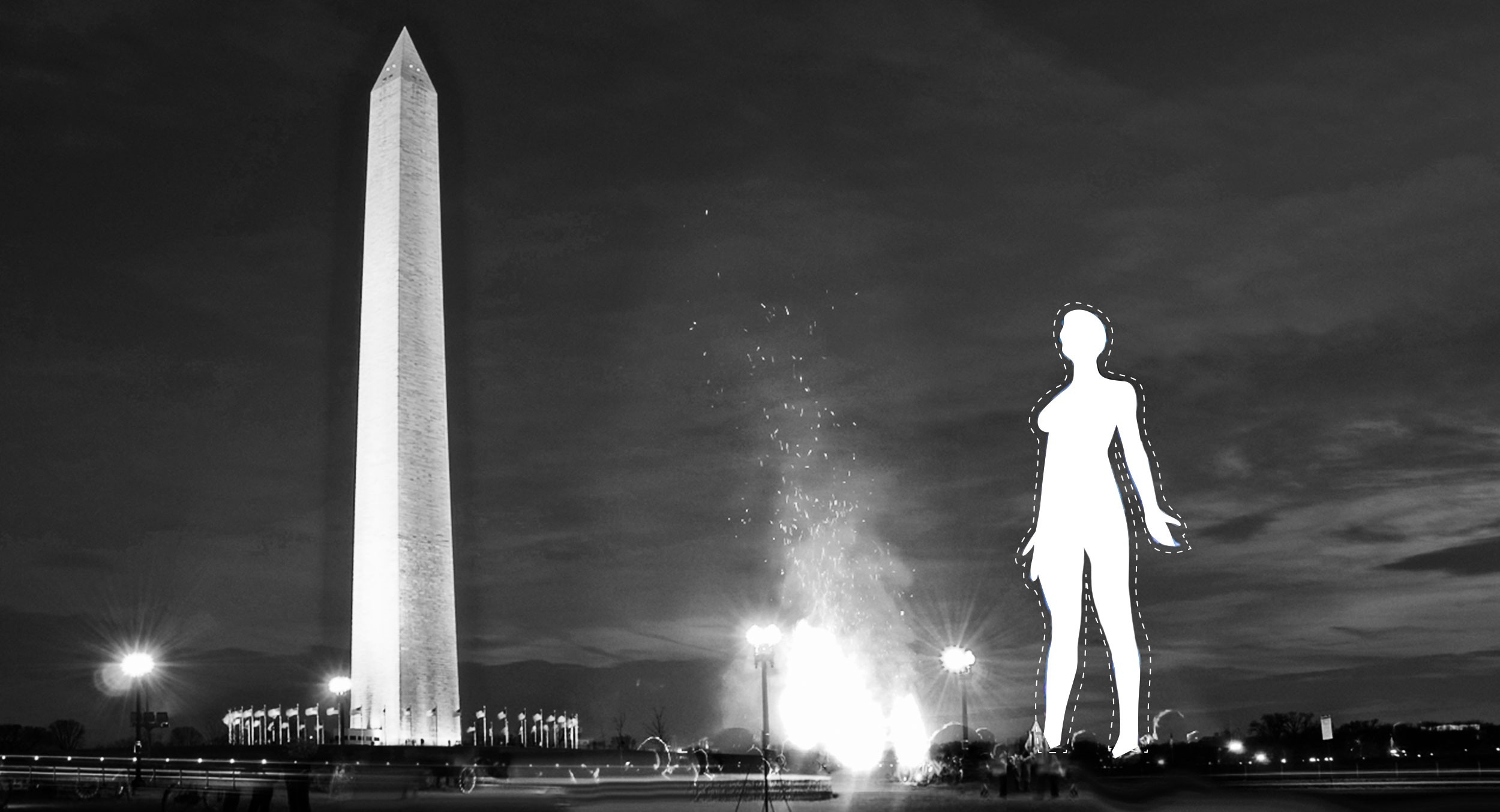 Park Service denies permit for a 45-foot statue of a naked