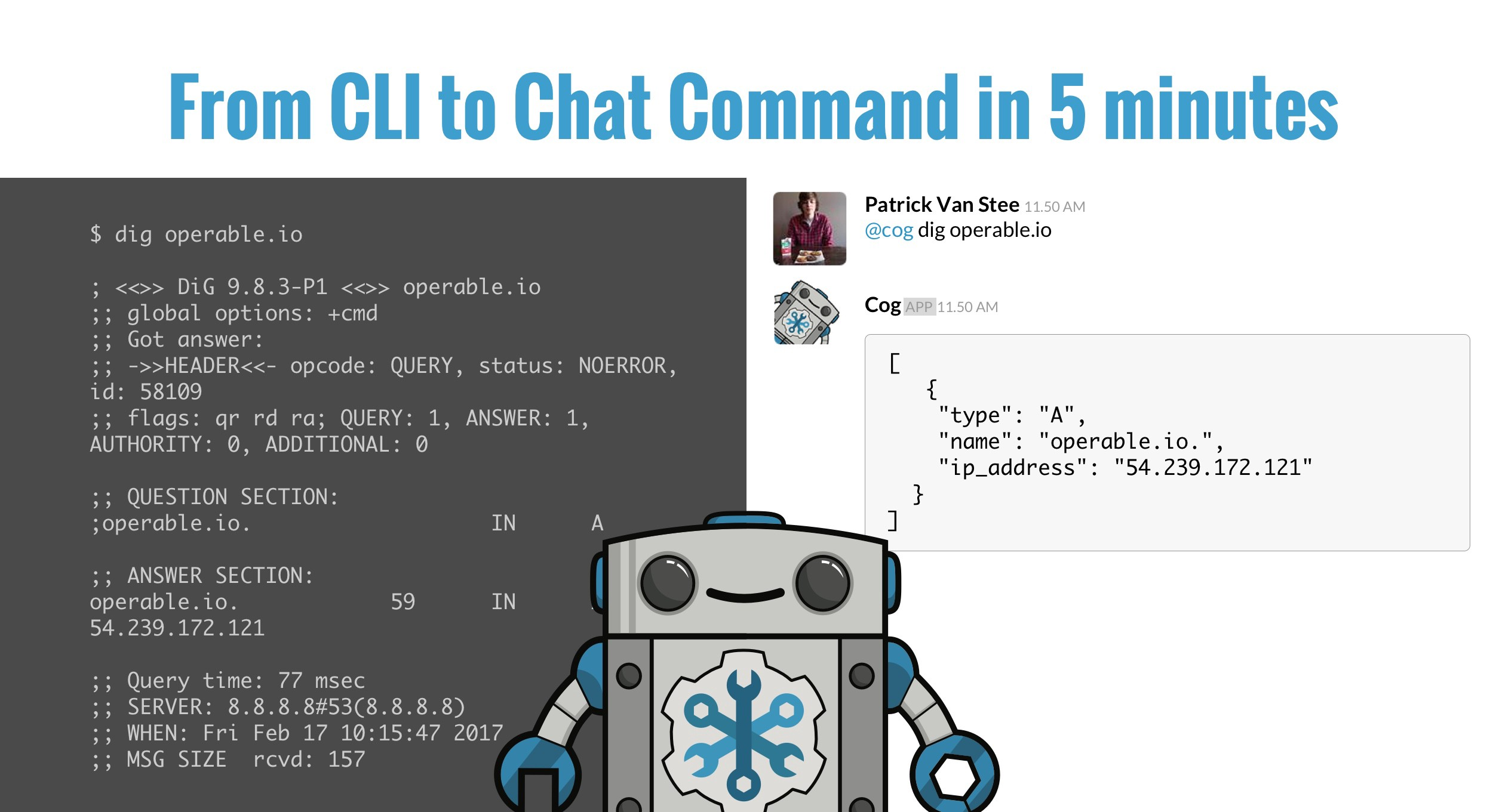 From CLI to Chat command in 5 minutes - Operable News