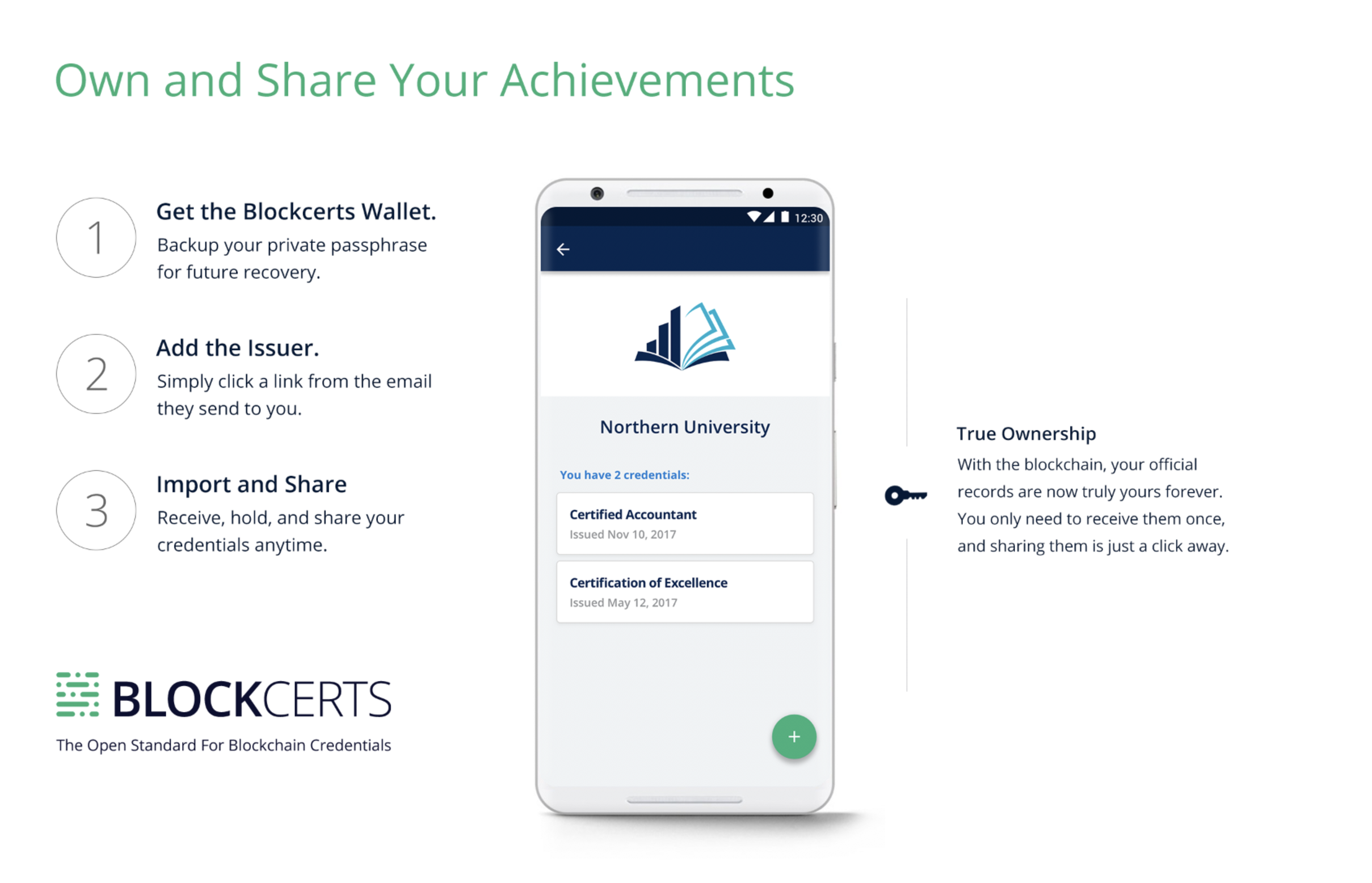 The New Blockcerts Mobile App - Learning Machine - Medium
