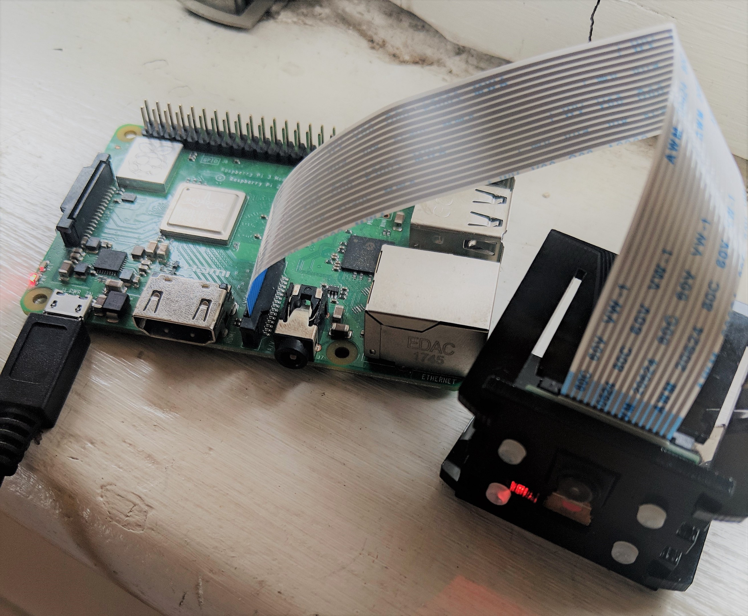 Shinobi Raspberry Pi