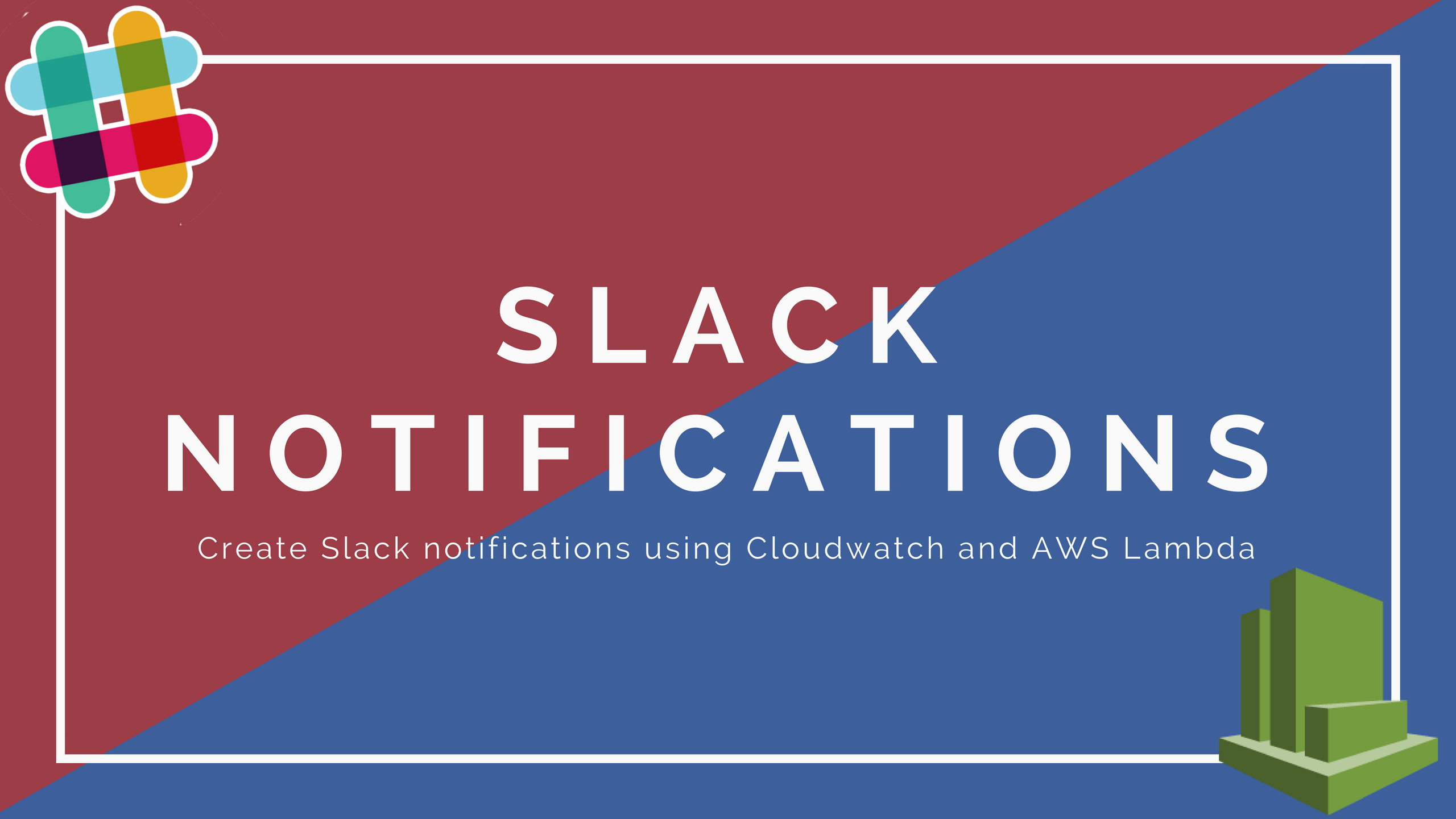 Create a Slack notification using CloudWatch Alarms and AWS Lambda