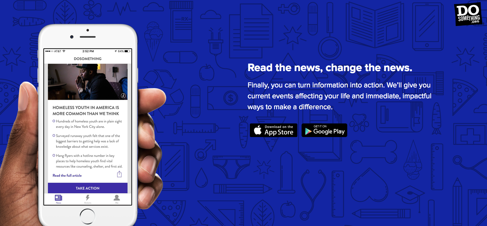 Thanks to Our Brand New App, Young People Can Make an Immediate