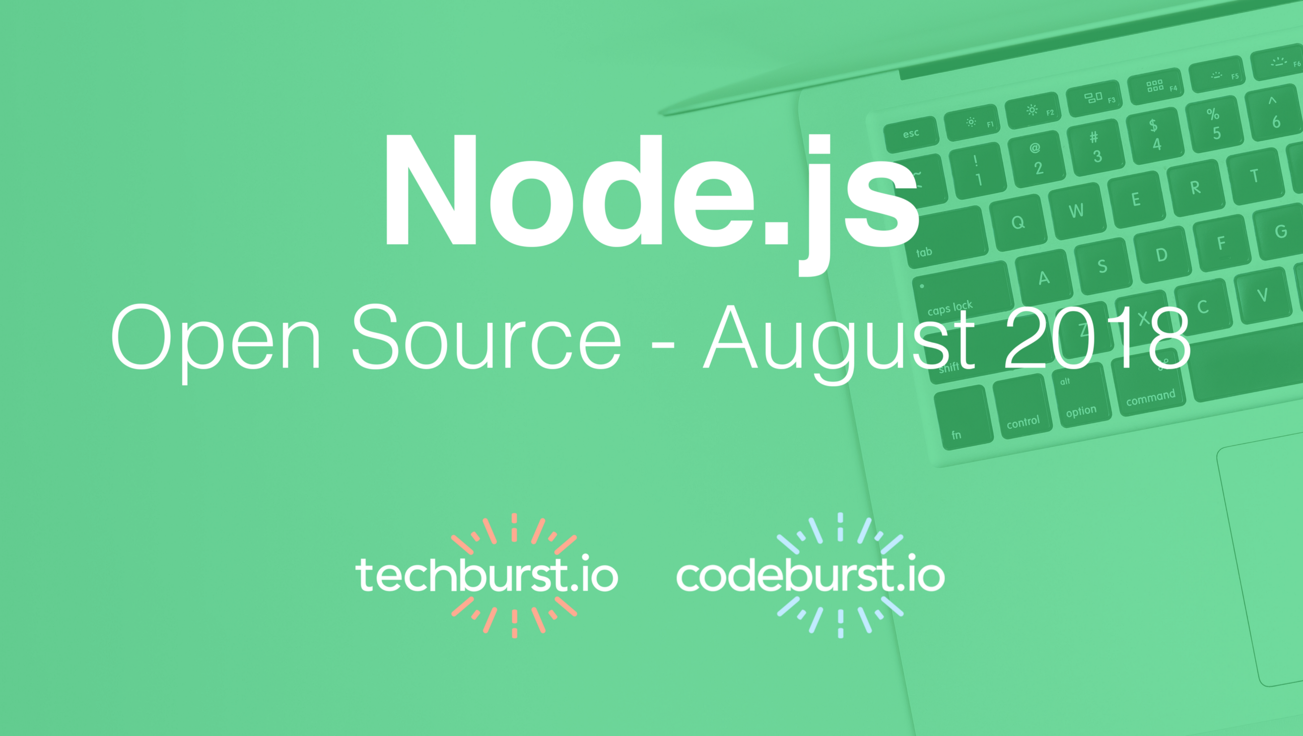 Top New Node JS Open Source Projects this month — August 2018