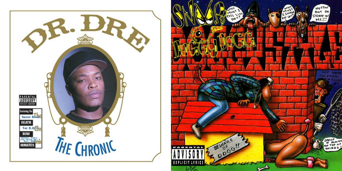 Dr  Dre: The Chronic (Death Row/Interscope, 1992) + Snoop Doggy Dogg