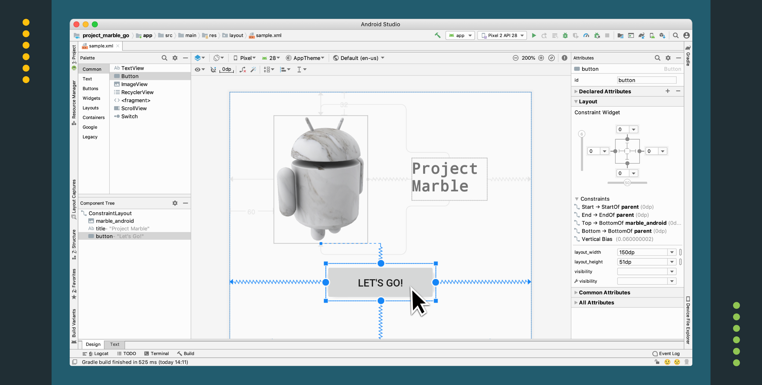 Android Studio Project Marble: Layout Editor - Android Developers