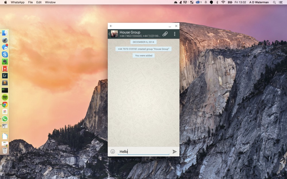 Using Google's new ARC Welder to run WhatsApp on PC or OS X