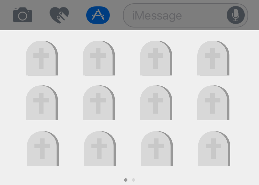 Is the iMessage App Store dying or already dead? - Adam