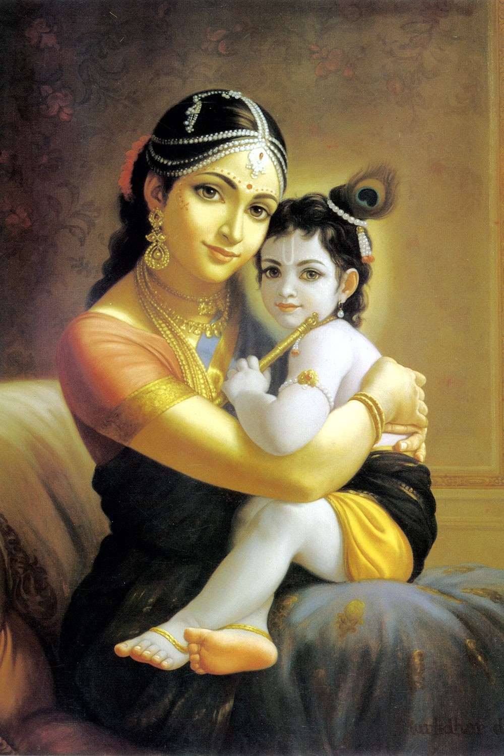Krishna and The Mother of Light — A Poem - Inevitable Word
