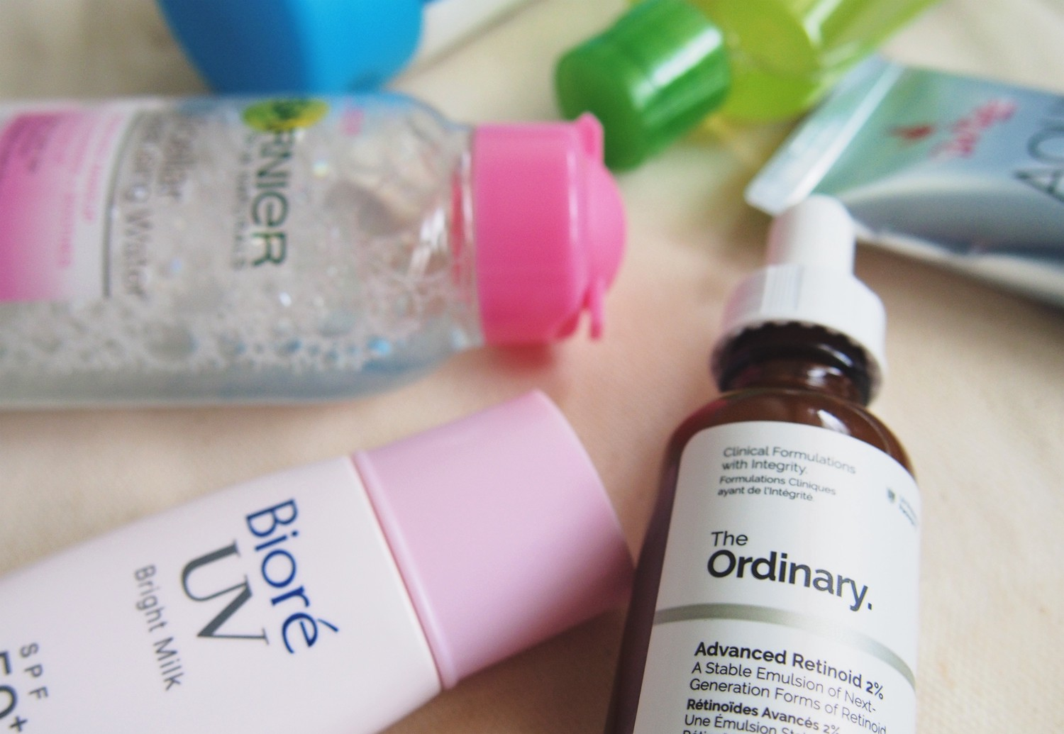 My lazy-ish, college budget five-step skincare routine