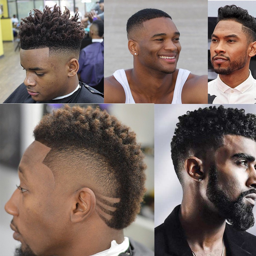 Here Is The Most Attractive Black Men Hairstyles Fashion