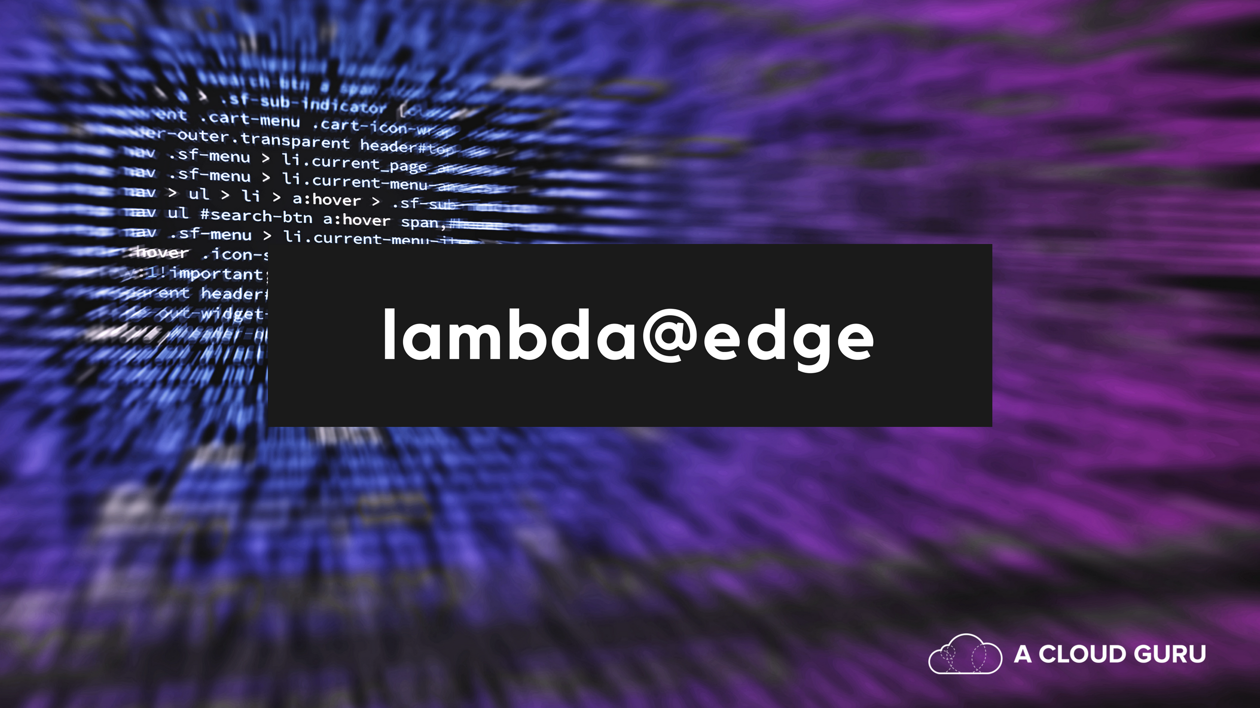 How to supercharge your static website with the power of AWS Lambda@Edge