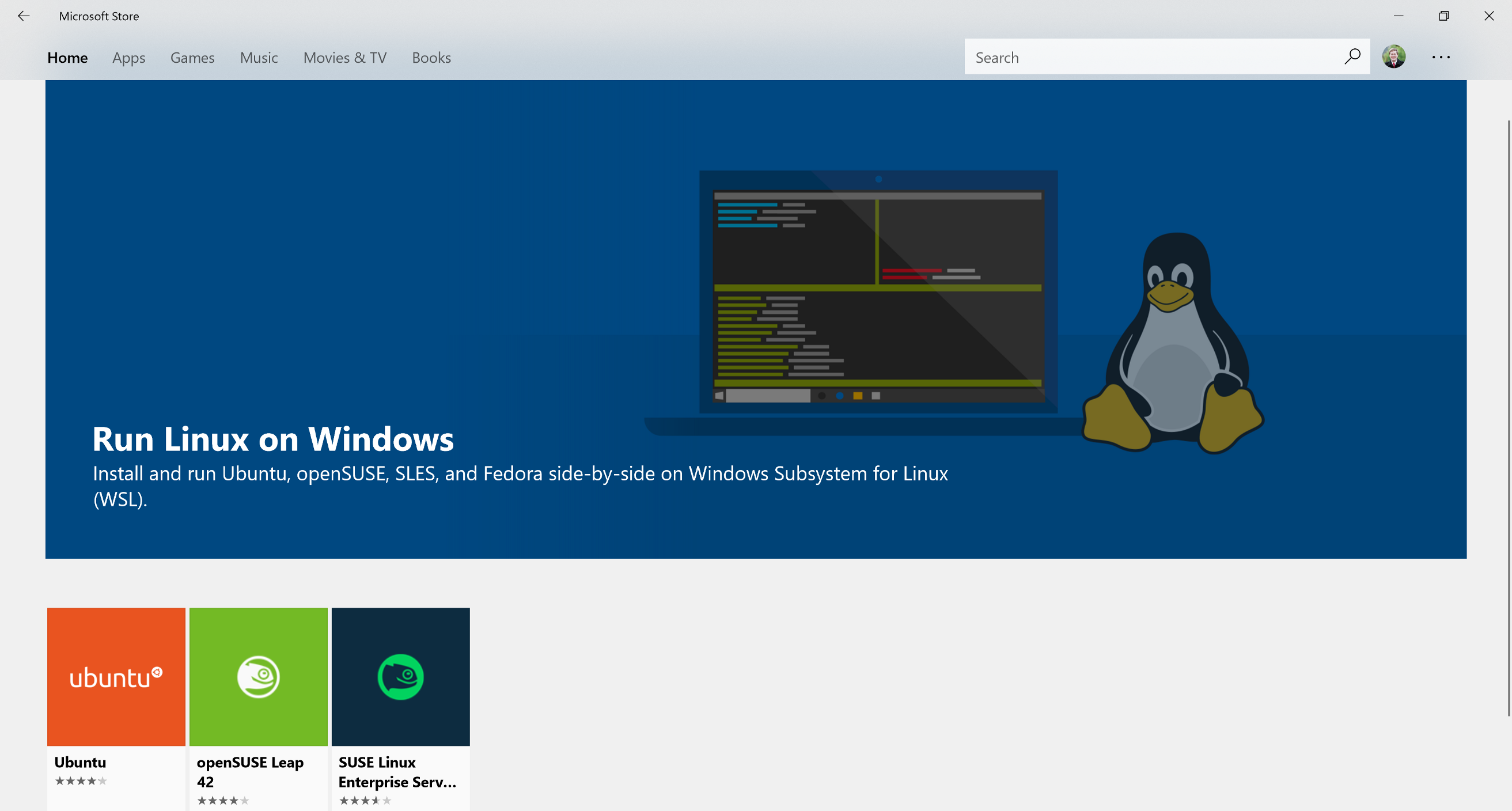 Epic Development Environment using Windows Subsystem for Linux