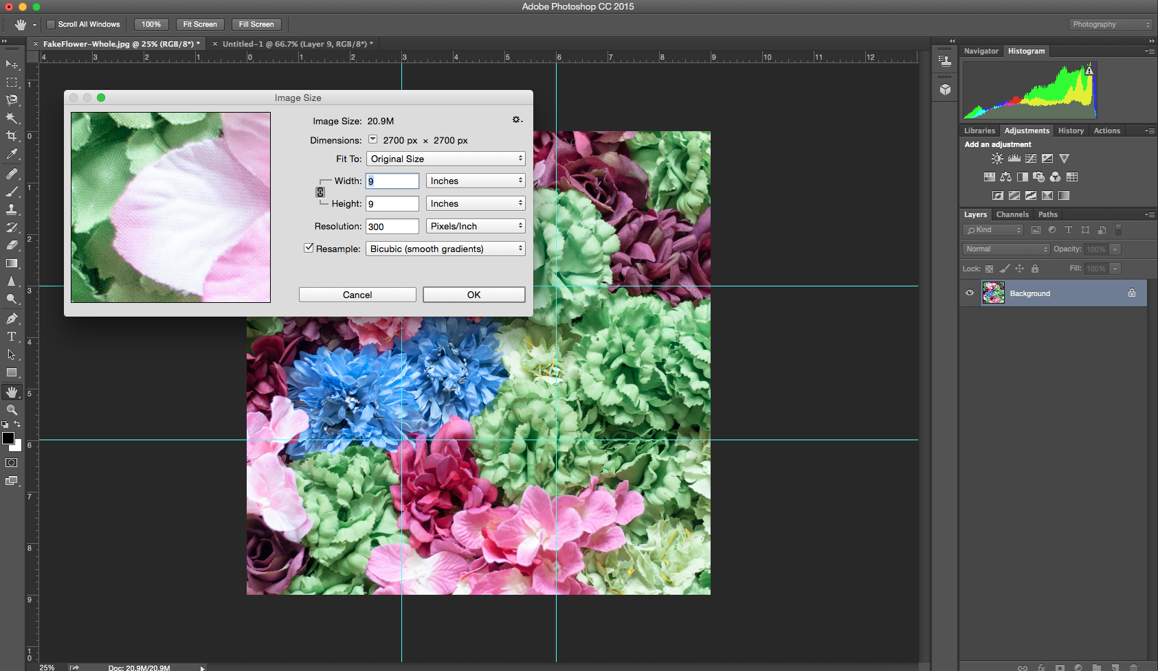 Photo Grid for Instagram with Photoshop CC 2015: Part 1