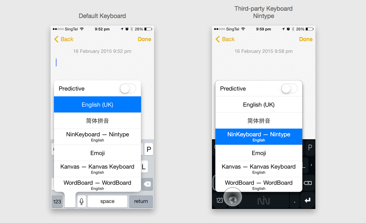 iOS Keyboard Globe Switch SDK? - Open Source Ideations - Medium