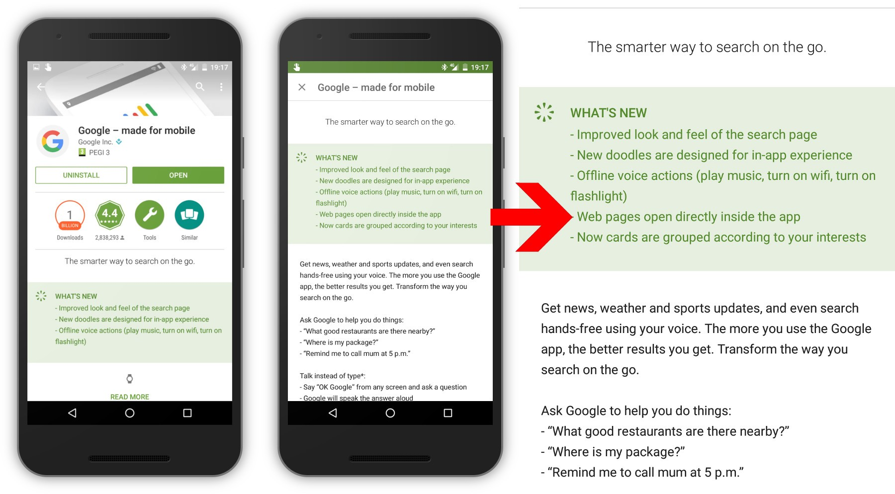 An interesting change to browsing on Android - Peter Gasston - Medium